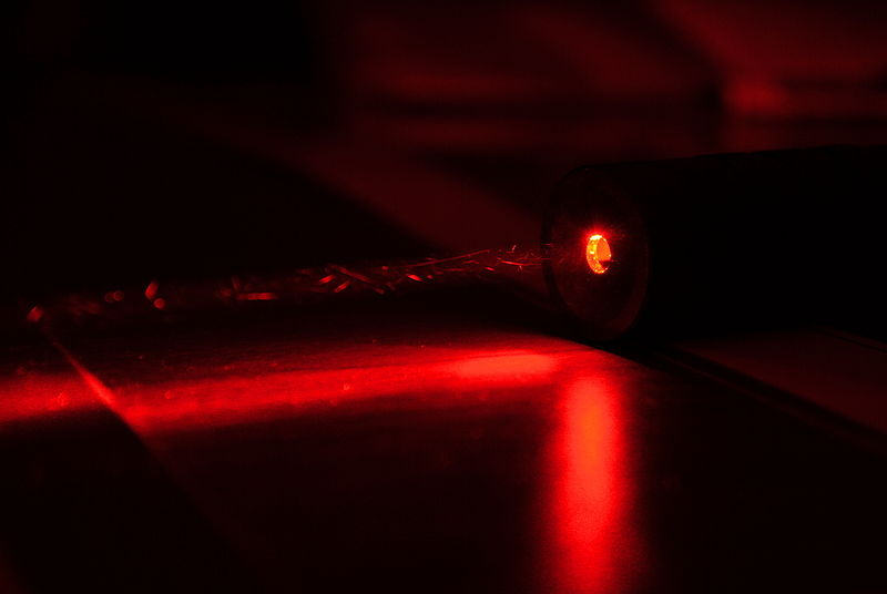 File:High Power Red Laser (from Flickr).jpg